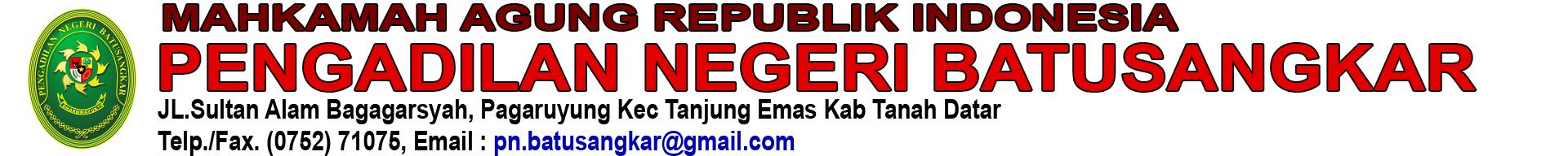 Pengadilan Negeri Batusangkar